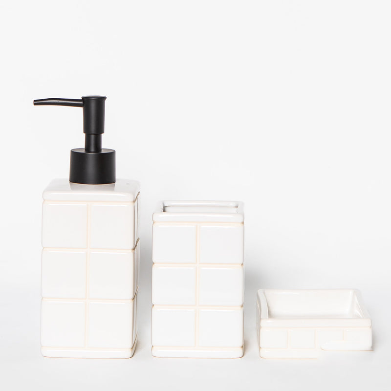 Ceramic Tile Soap Dispenser