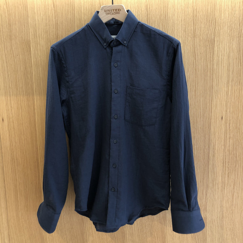 Navy Double Gauze Shirt