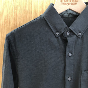 Black Double Gauze Shirt