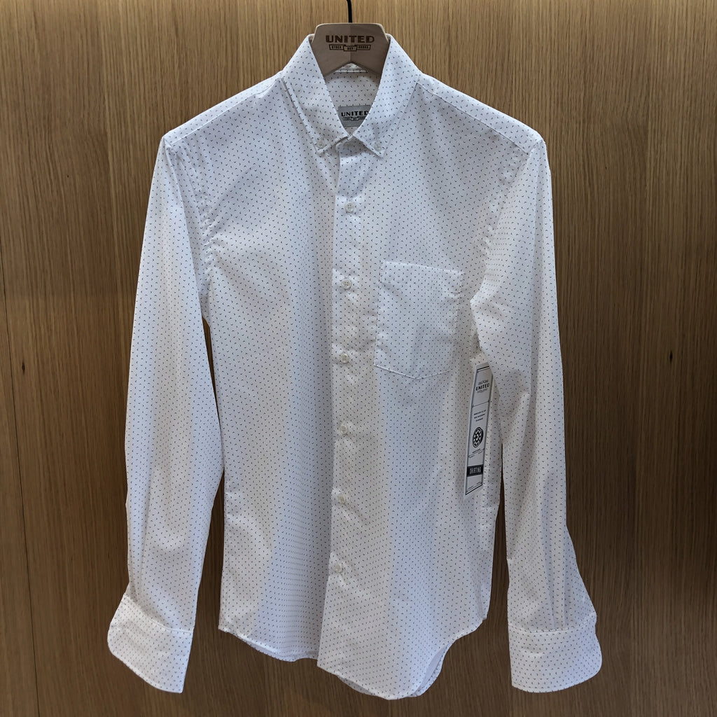 White Broken Diamond Shirt