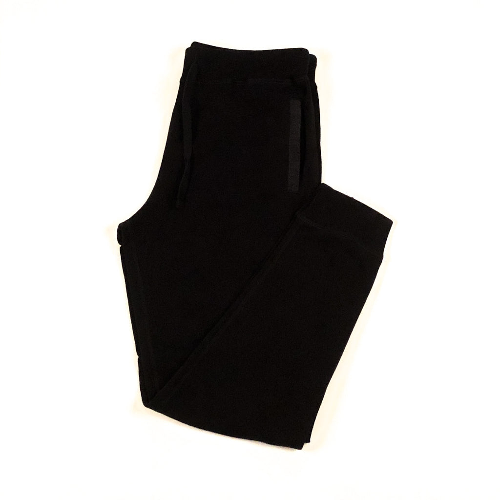 Black 16 oz Cotton Terry Sweatpant