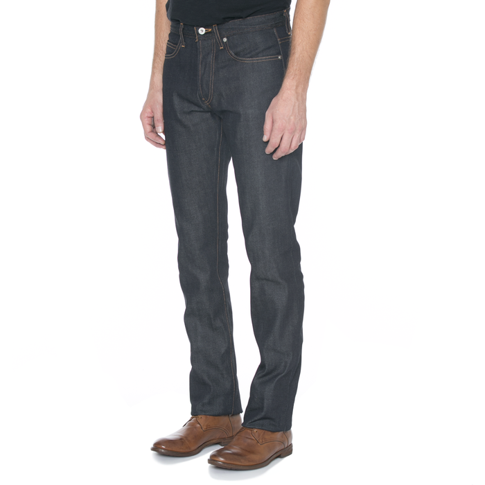 Narrow Fit Indigo Selvage Denim