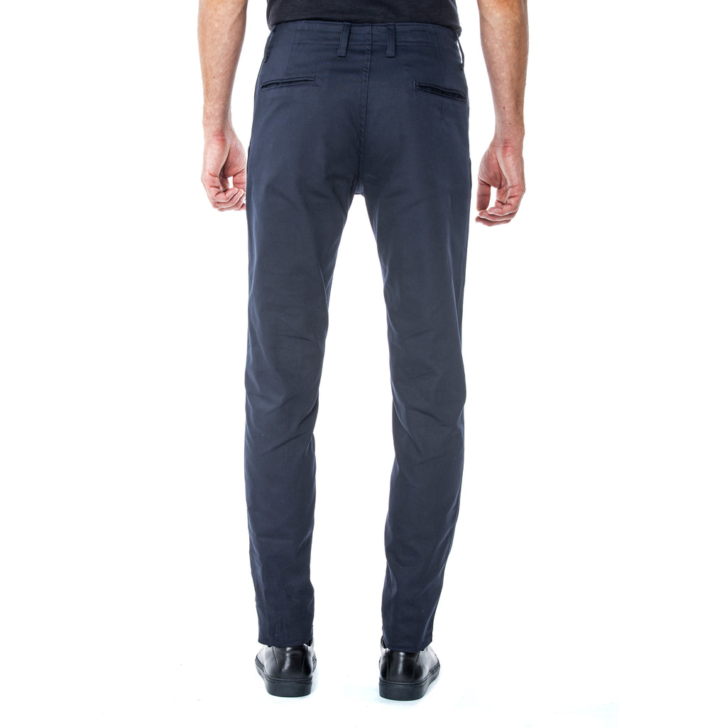 Navy Technical Stretch HT Chino Trouser