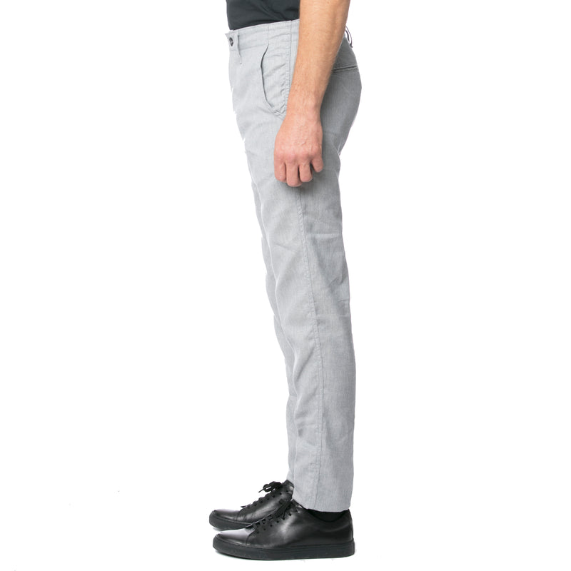 Grey Heather HT Chino Trouser