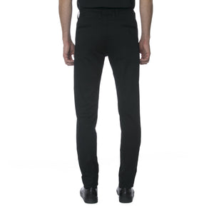 Black Technical Stretch Chino - Sydney's, Toronto, Bespoke Suit, Made-to-Measure, Custom Suit,