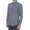 Grey Melange Long Sleeve Shirt