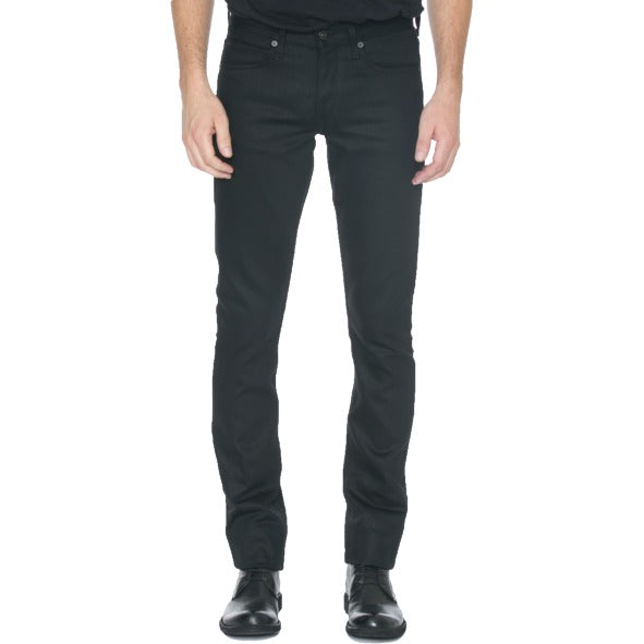 Slight Fit Black Denim