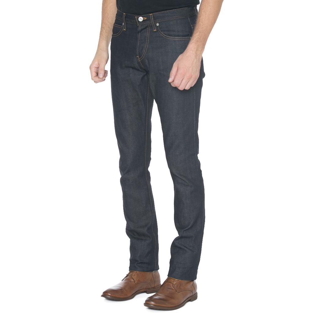 Slight Fit Indigo Selvage Denim