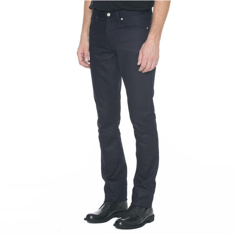 Narrow Fit Black Selvage Denim
