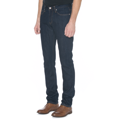 Slight Fit Navy Selvage Denim