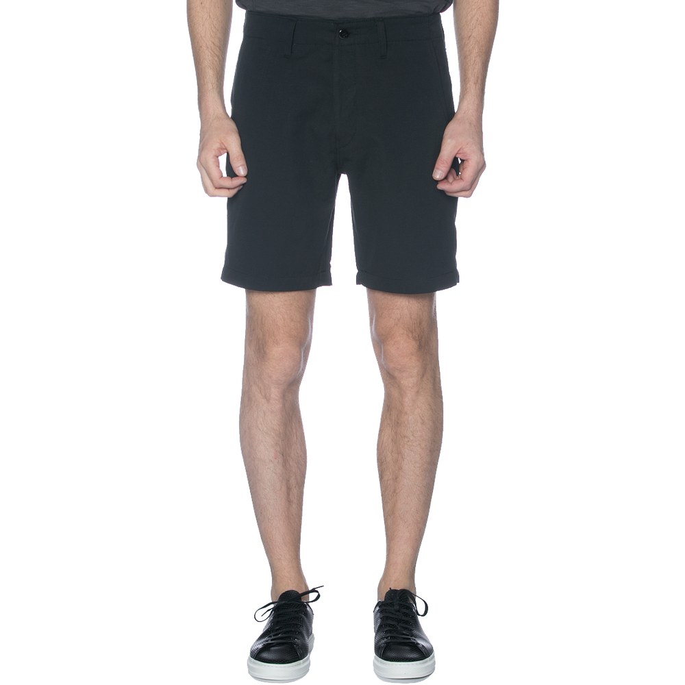 Black Cotton Linen Chino Shorts - Sydney's, Toronto, Bespoke Suit, Made-to-Measure, Custom Suit,