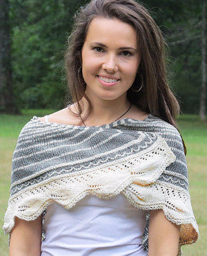 Birches Shawlette Kit