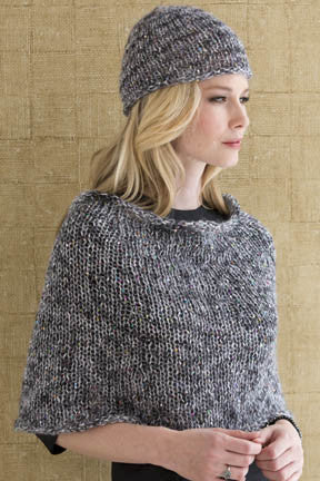 Amelie Capelet Hat Hooked Knitting
