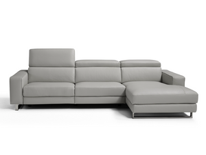 AUGUSTO ITALIAN REGULAR SECTIONAL - ELECTRIC RECLINER