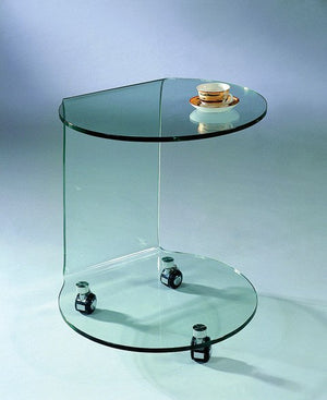 C-032 GLASS SIDE TABLE
