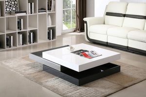 CW01 MODERN ROTARY COFFEE TABLE