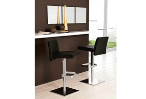 VITTORIA Italian Leather Bar Stool