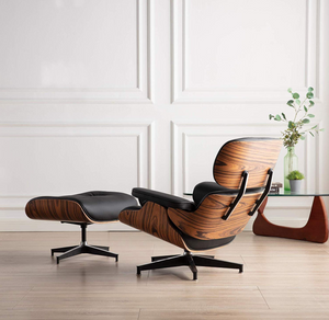 CHARLES LOUNGE CHAIR WITH OTTOMAN