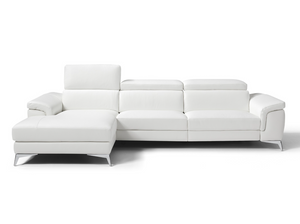 FLAVIO ITALIAN SECTIONAL - ELECTRIC RECLINER (LEFT CHAISE)