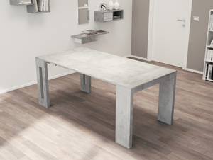 ERIKA EXTENDABLE CONSOLE / DINING TABLE. (8 SEATS)