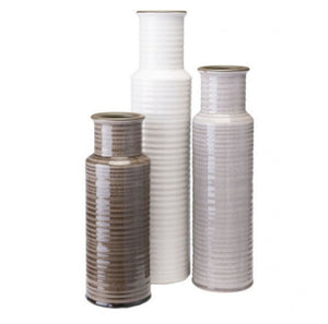 Strippes Bottle Light Gray