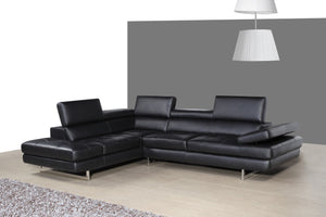 A761 ITALIAN LEATHER SECTIONAL