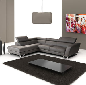 SPARTA ITALIAN LEATHER SECTIONAL 1