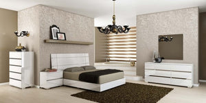 DREAM WHITE BEDROOM SET
