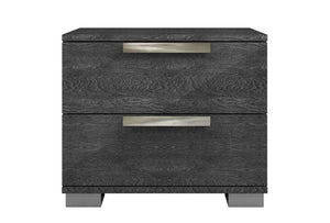 HAMPTON Gray Nightstand