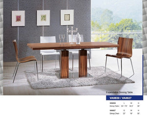VA9830 EXPANDABLE DINING TABLE