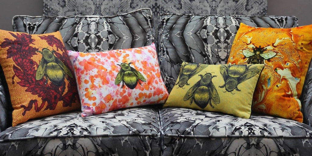 decorative cushions by | timorous beasties