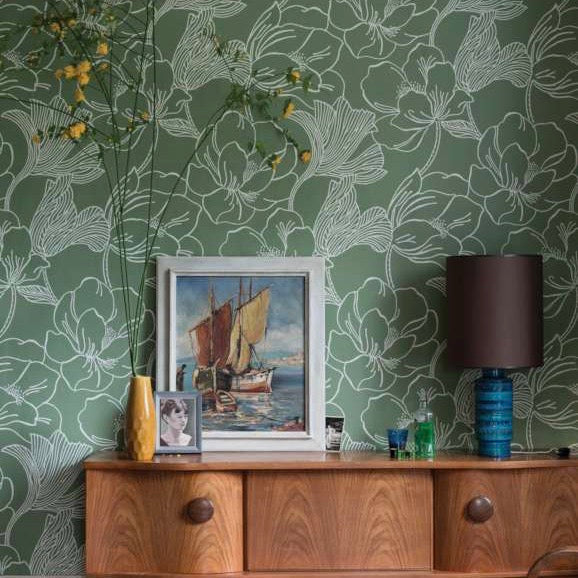 helleborus wallpaper adorn.house farrow and ball