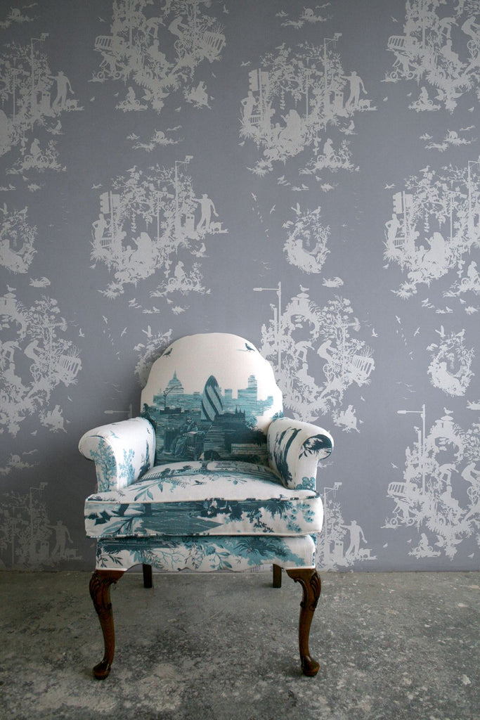 decouper 3 hand printed | wallpaper, timorous beasties, wallpaper, - adorn.house