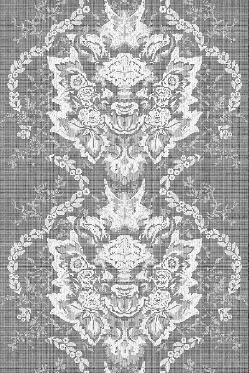 devil damask lace fabric timorous beasties adorn.house