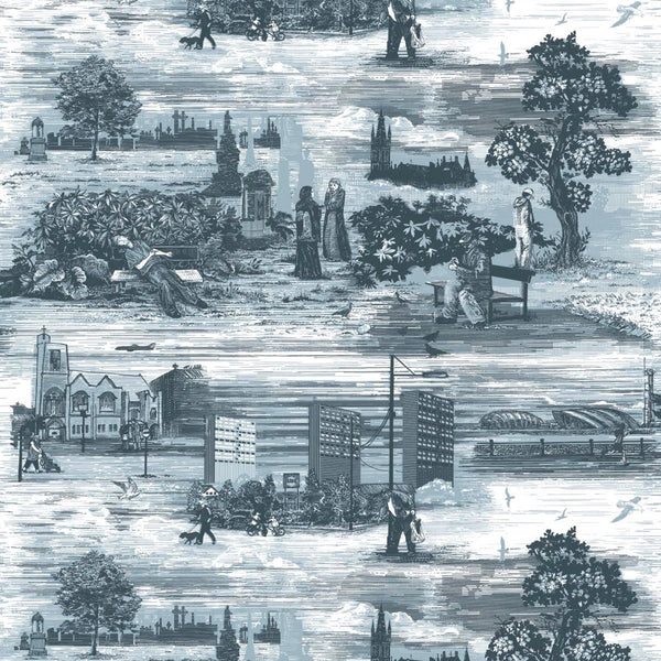 glasgow toile fabric, timorous beasties, fabric, - adorn.house