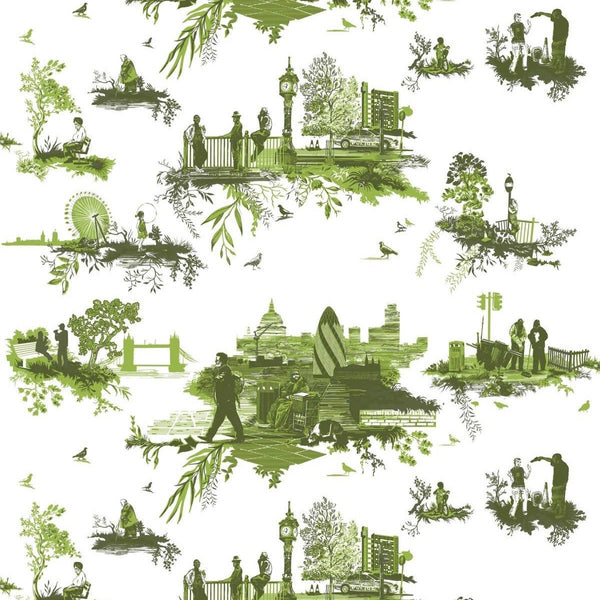 london toile fabric, timorous beasties, fabric, - adorn.house