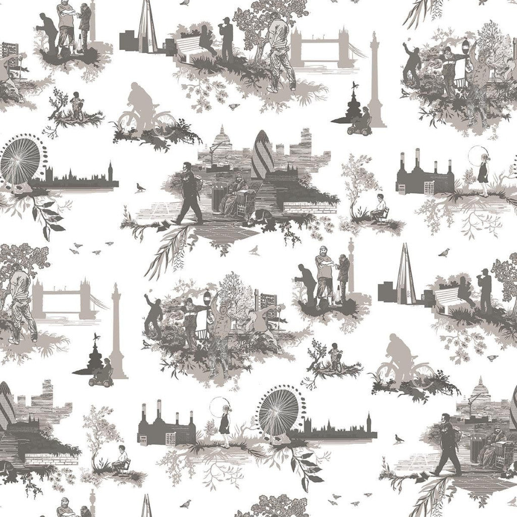 diamond jubilee toile | wallpaper, timorous beasties, wallpaper, - adorn.house