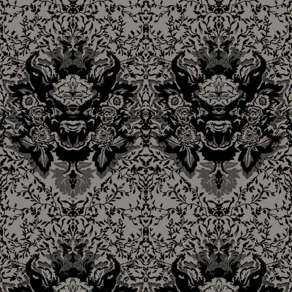 devil damask fabric timorous beasties adorn.house