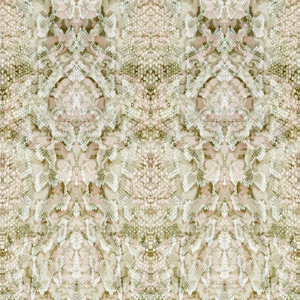 snakeskin damask | superwide wallpaper panel, timorous beasties, wallpaper, - adorn.house