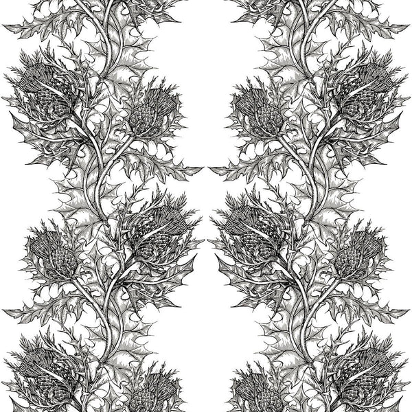 thistle fabric, timorous beasties, fabric, - adorn.house