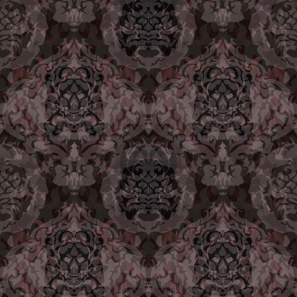 skull damask | superwide wallpaper, timorous beasties, wallpaper, - adorn.house