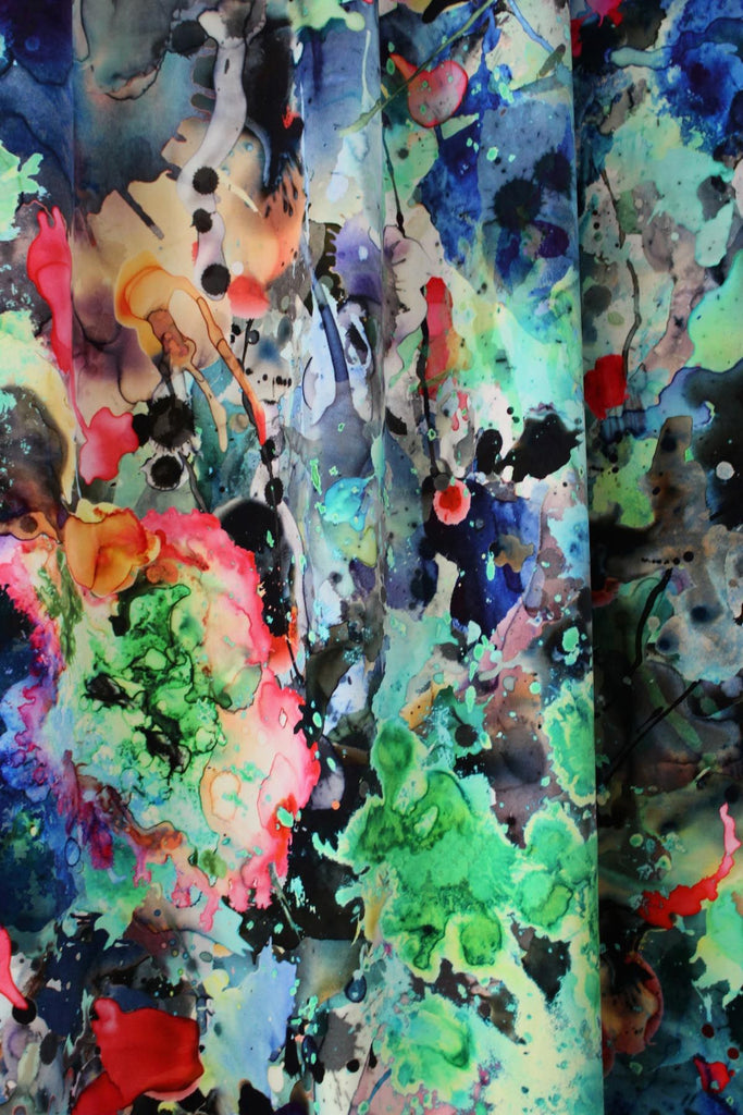 kaleido splatt all over | velvet or cotton fabric, timorous beasties, fabric, - adorn.house