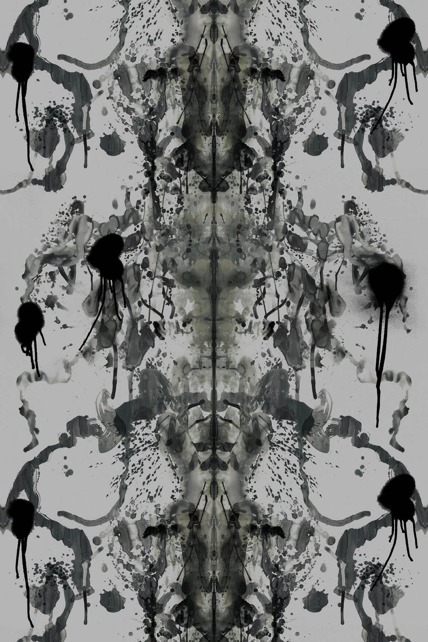 rorschach velvet fabric, timorous beasties, fabric, - adorn.house