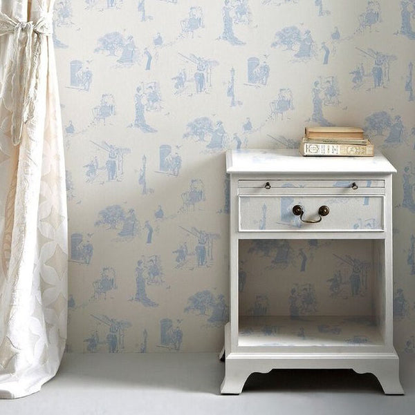 promenade, Barneby Gates, wallpaper, - adorn.house