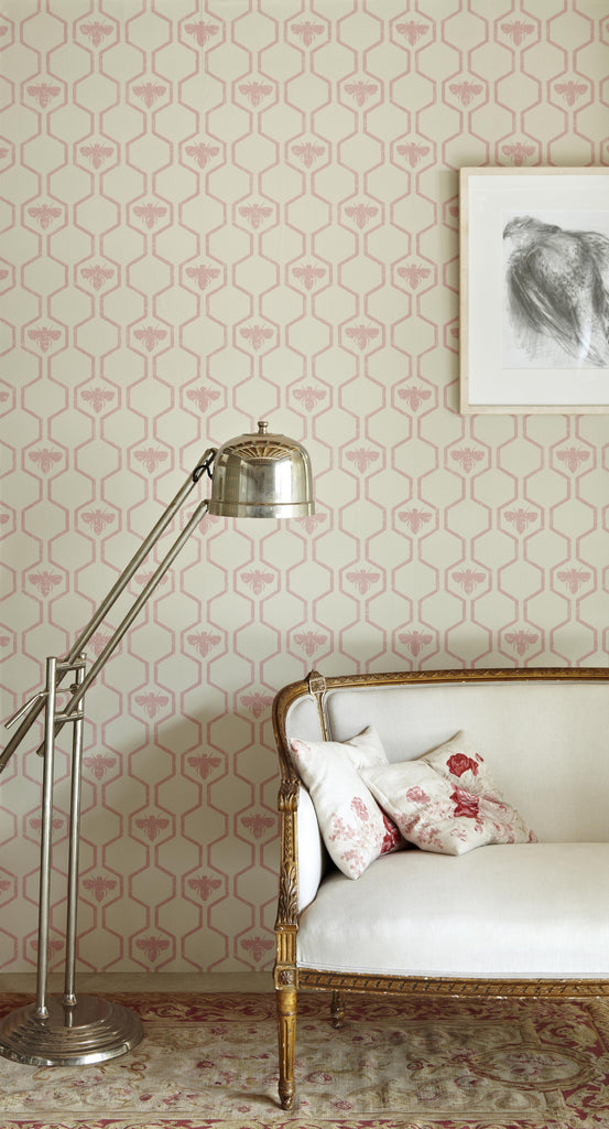 honey bees | wallpaper - adorn.house