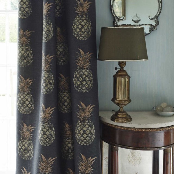 pineapples, Barneby Gates, fabric, - adorn.house