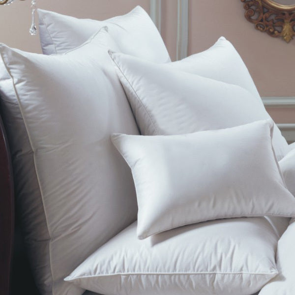bernina 650 Fill power white goose down european pillow, downright, insert, - adorn.house