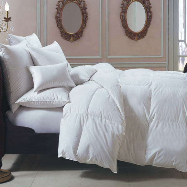 bernina 650 fill power white goose down european comforter, downright, insert, - adorn.house