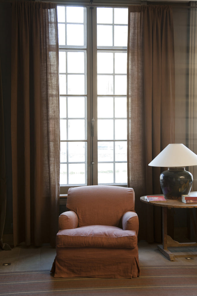 window treatment | chester, libeco, window treatments, - adorn.house