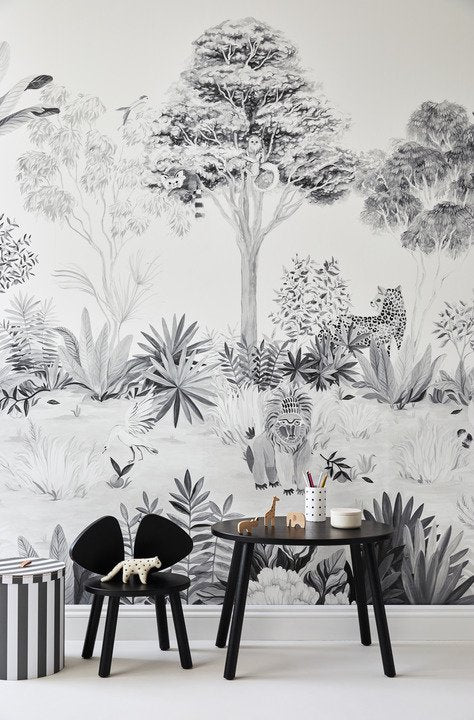 jungle wallpaper, sian zeng, wallpaper, - adorn.house